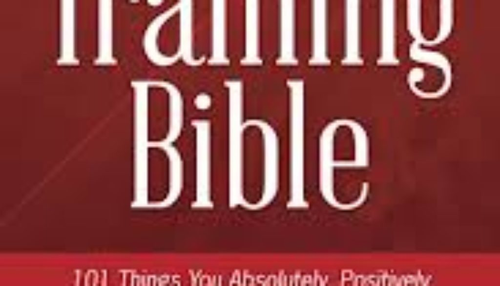 Media Training Bible