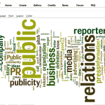 Word Cloud - PR