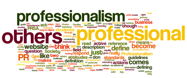 word cloud professional