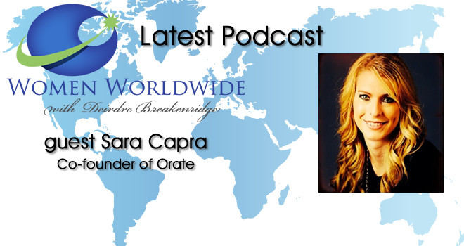 Women Worldwide with Guest, Sara Capra