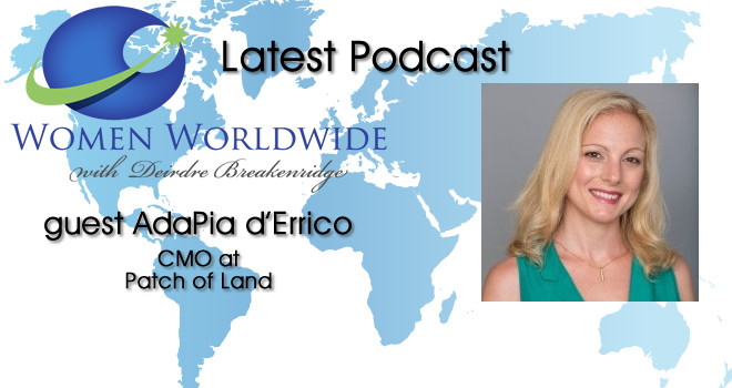 Women Worldwide with Guest, AdaPia d'Errico