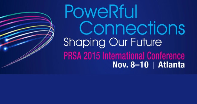 Speaking: PRSA International Conference 2015