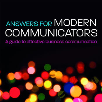Answers to Modern Communicators