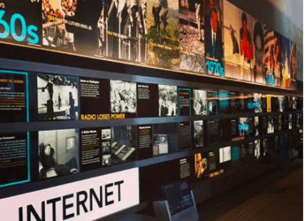 Internet Exhibit at Newseum