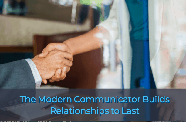 The Modern Communicator Builds Relationships 1